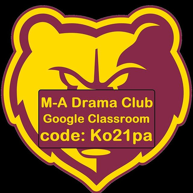 To gain access to officer and award ballots, ITS score sheets, and Drama Prom invites, join the M-A Google Classroom. (Code: Ko21pa) ***DM with any questions ***