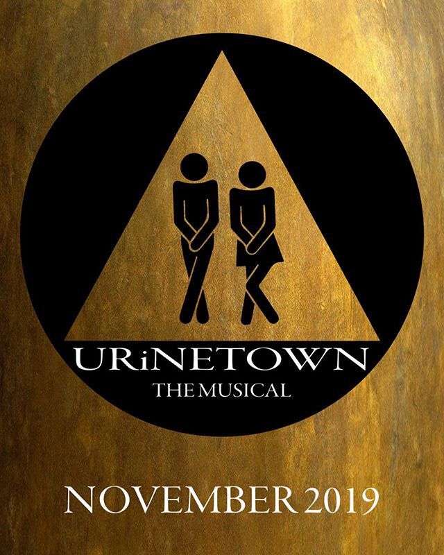"For those considering auditioning in the fall- it's never too early to prepare. You can start by taking a look at the materials in the ""production file"" on our website. Link in bio.  Urinetown, the Musical is a satirical comedy, poking fun at the American musical form itself (among other things). So if you don't consider yourself a fan of musicals- this one might be an exception. (If you DO consider yourself a musical fan... that works, too!)"