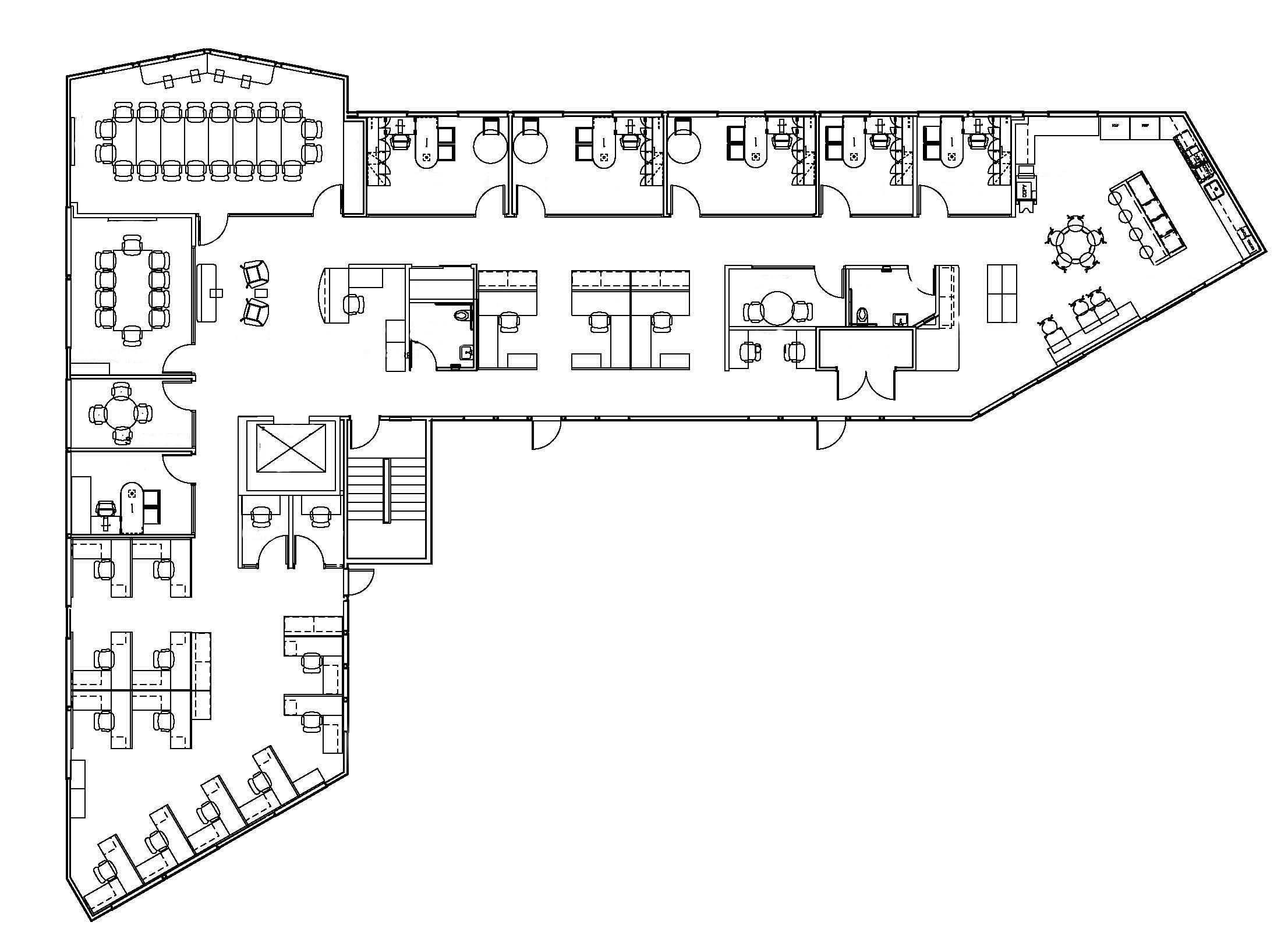 Floor Plan by  Uesugi & Associates