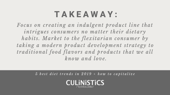 The 5 best diet trends shaping the food industry in 2019 and how to capitalize in your food product development strategy