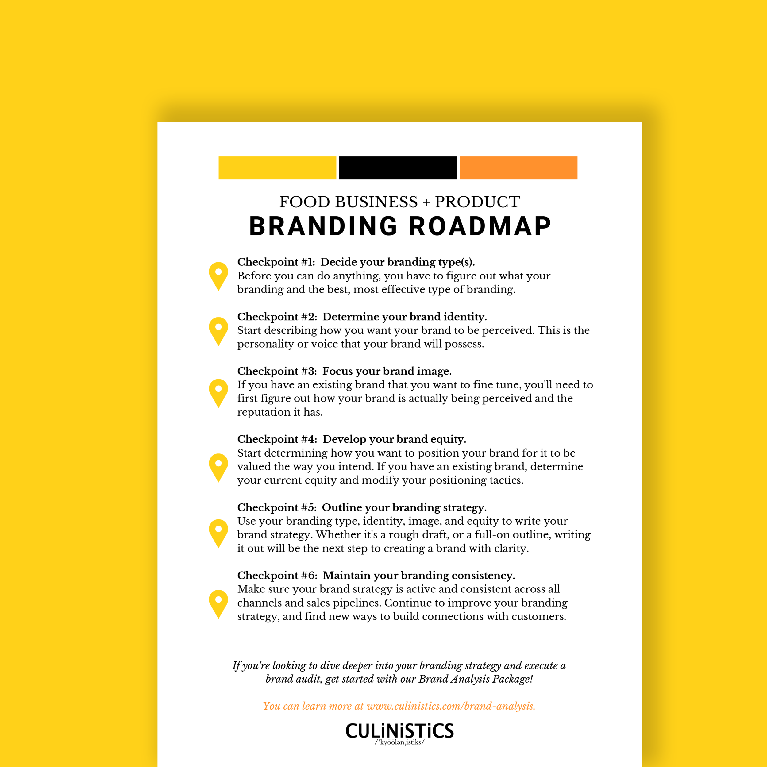 5 types of branding in the food industry & how to choose the right type for your brand (+ a free brand roadmap pdf)