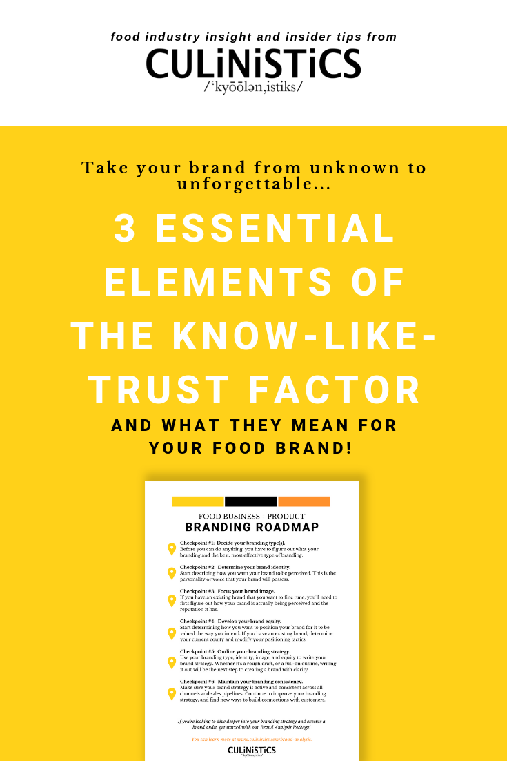5 types of branding in the food industry & how to choose the right type for your brand plus a free brand roadmap pdf