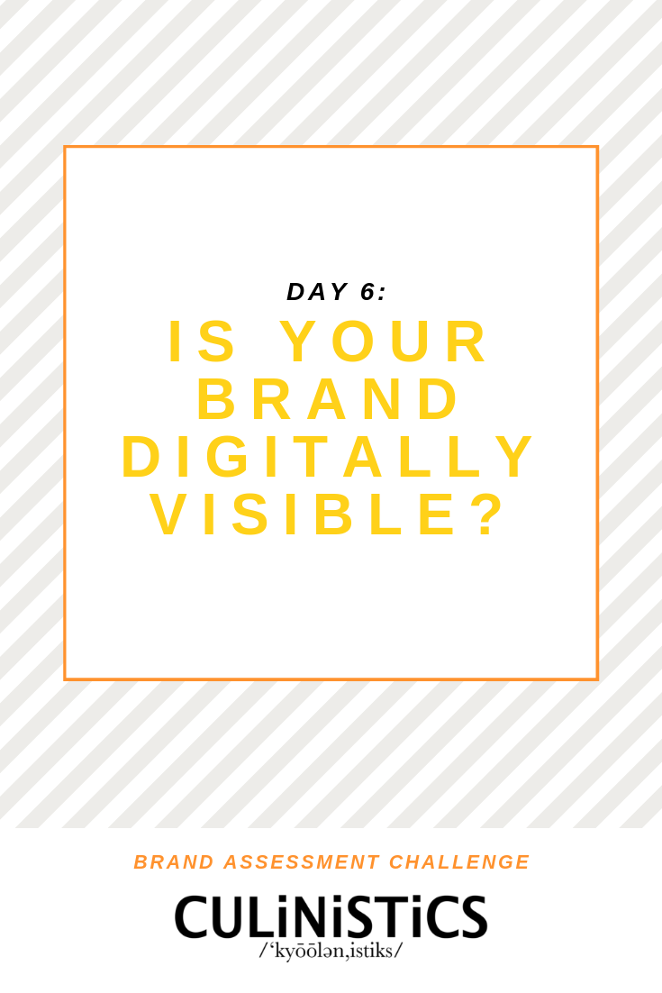 Day 6 of the Brand Assessment Challenge! Get started with developing or auditing your brand and creating a content strategy that converts!