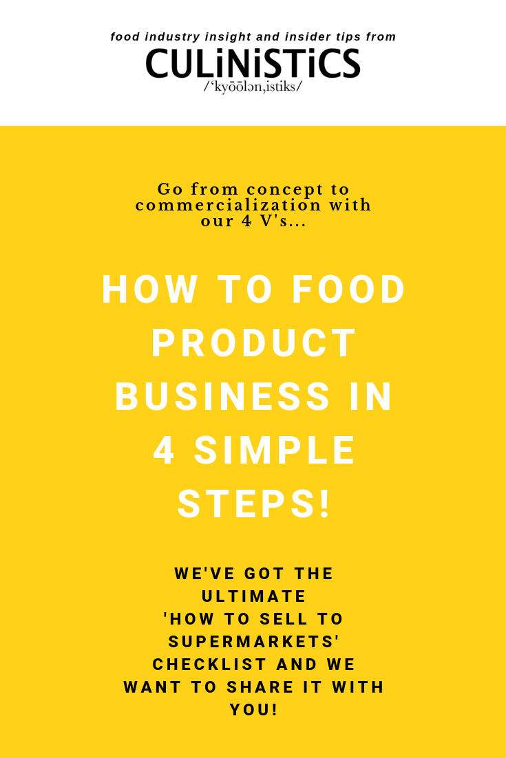 How to launch a food product in 4 steps - get your product in grocery stores