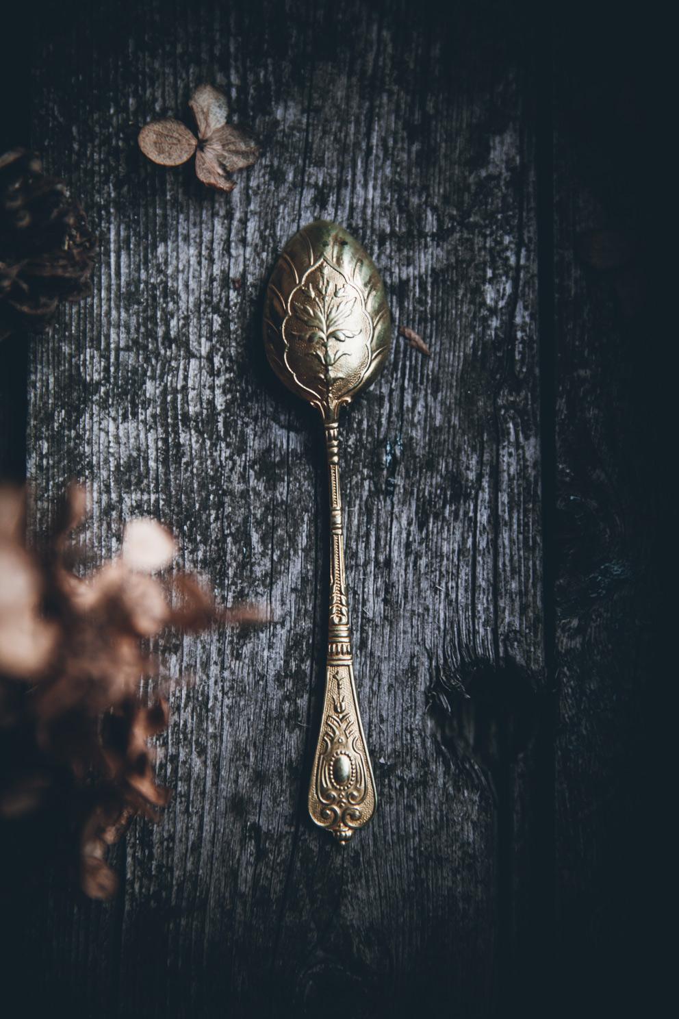 Lovely ornate spoon