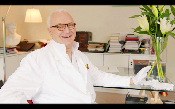 Shoemaking legend Manolo Blahnik