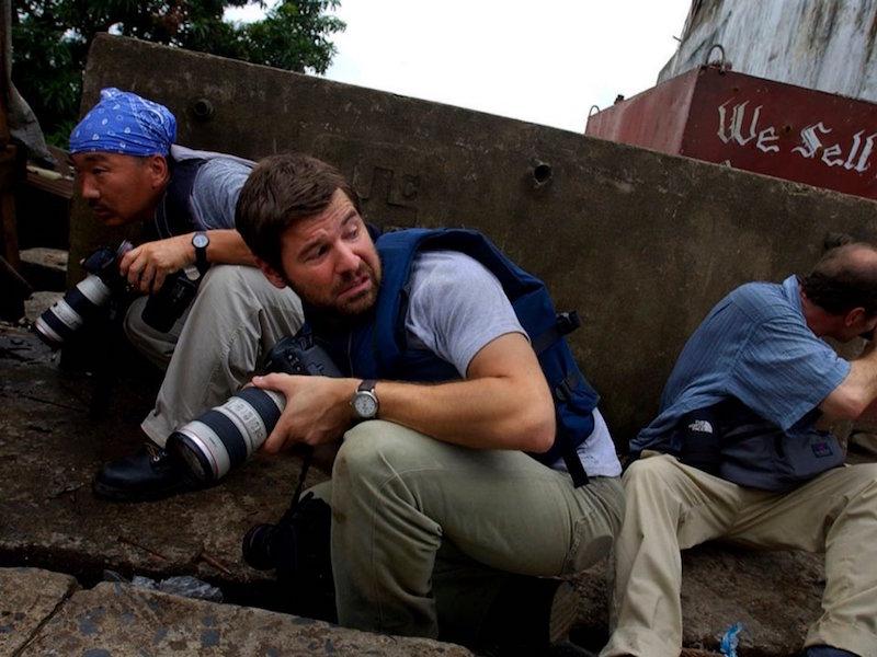 Chris Hondros by Nic Bothma/Courtesy of HONDROS Film