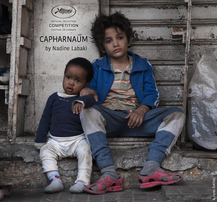 The Poster for Nadine Labaki's 'Capharnaum' - Photo by Fares Sokhn