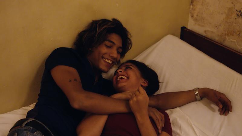 Dylan Roberts and Kenza Fortas in Jean-Bernard Marlin's 'Sheherazade'