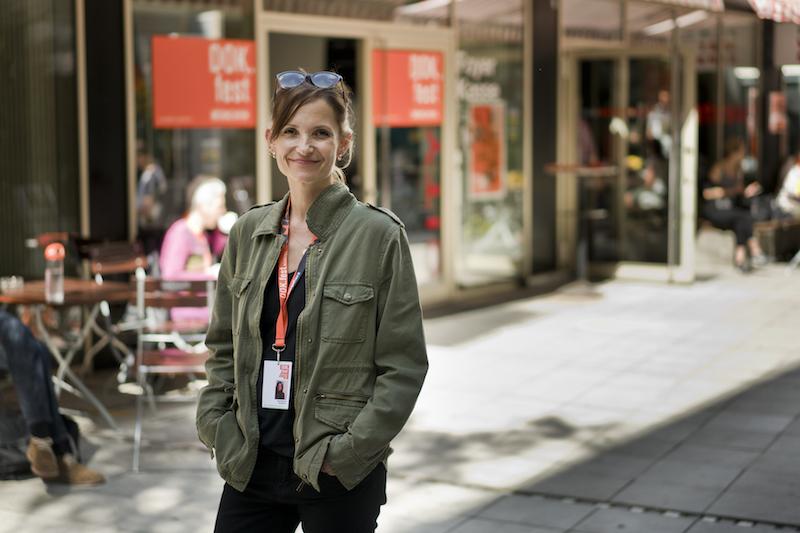 Filmmaker Claire Belhassine