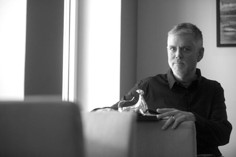 Kyle Cooper with his Vision Award Ticinomoda, photo copyright: @ Locarno Festival