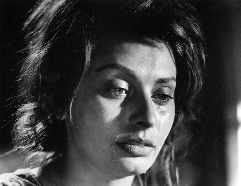 Sofia Loren in 'Two Women' by Vittorio De Sica