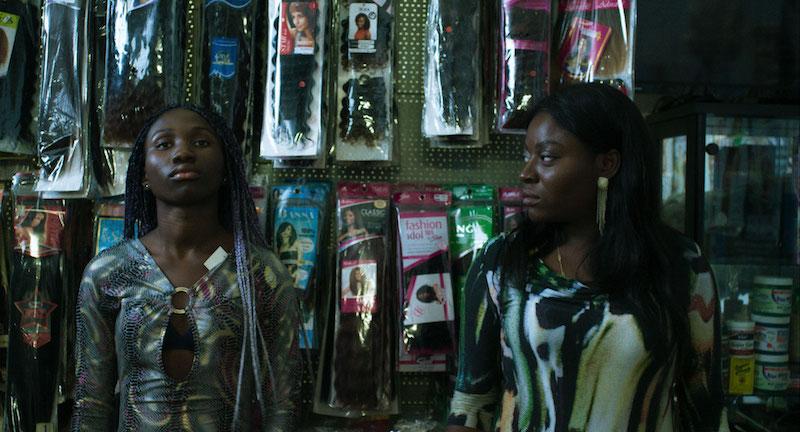 Precious Mariam Sanusi, left,and Joy Anwulika Alphonsus in a still from 'Joy'