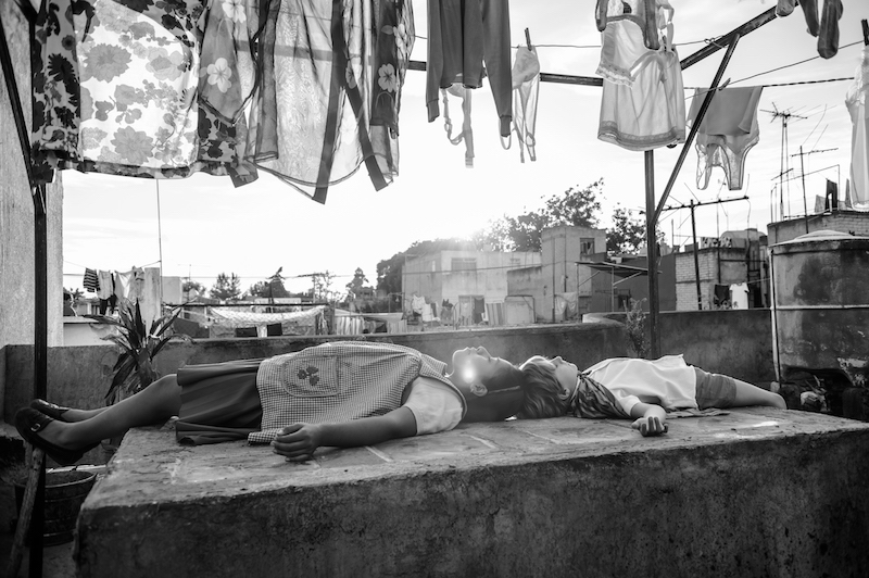 A still from 'Roma' the Venice Golden Lion winning film by Alfonso Cuarón which will be in theater and on Netflix in December 2018