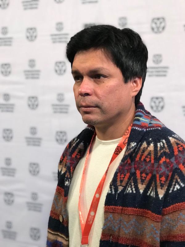 Filmmaker Miguel Angel Moulet at IFFR