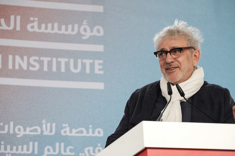 Elia Suleiman by Getty Images, courtesy of DFI