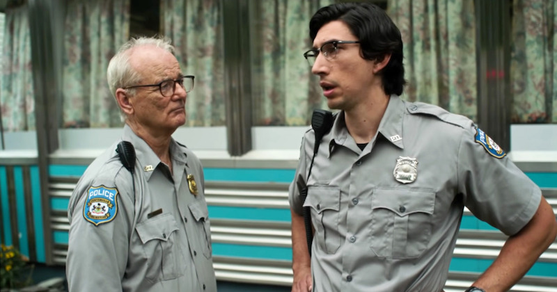 Bill Murray and Adam Driver in a still from 'The Dead Don't Die'