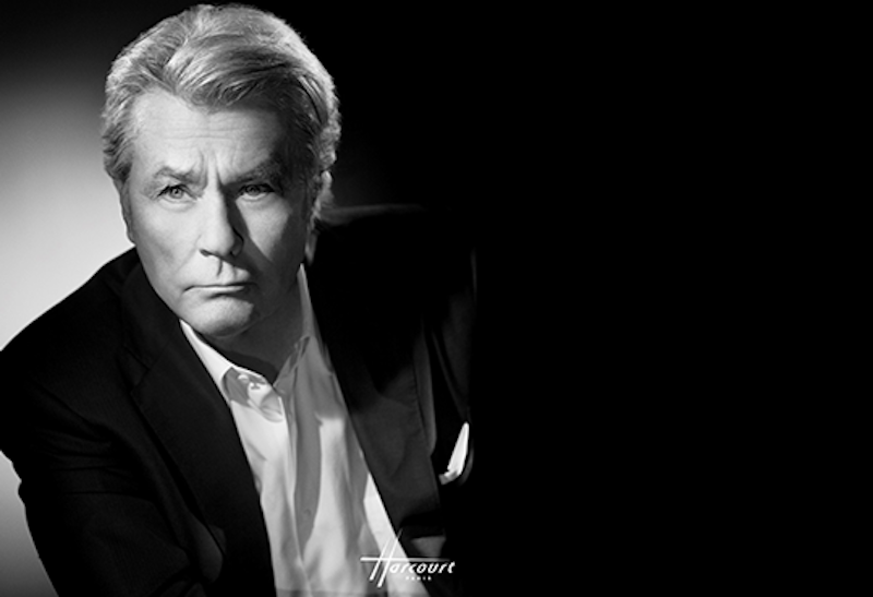 Alain Delon, photo courtesy of the Festival de Cannes