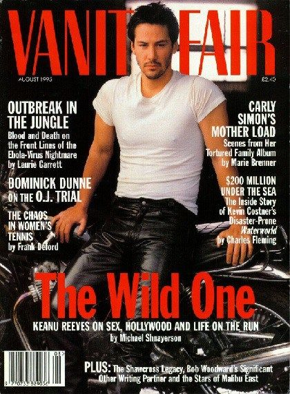 Keanu Reeves on Vanity Fair
