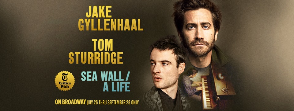 Sea Wall a Life Jake Gyllenhaal and Tom Sturridge
