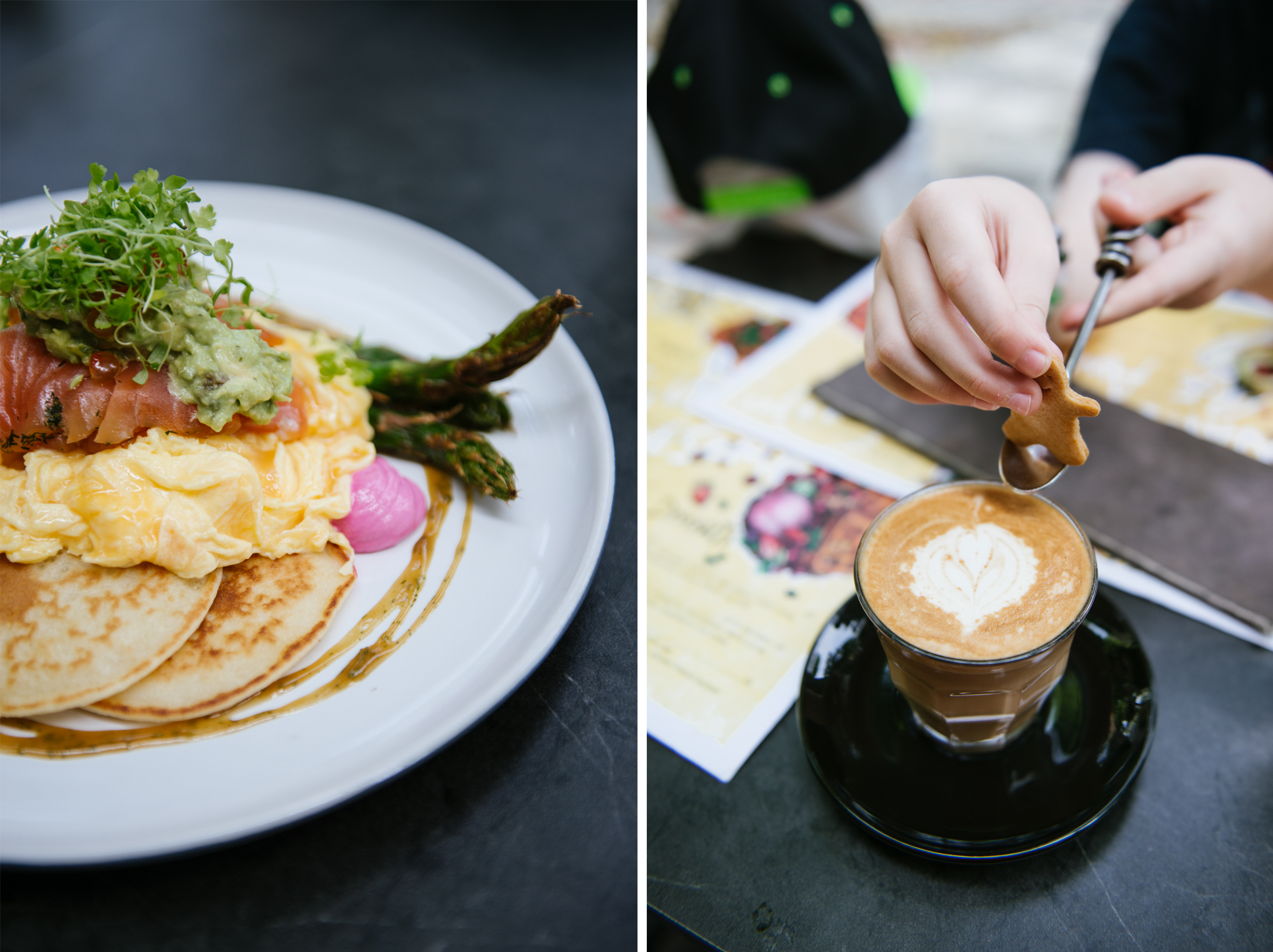 Great breakfasts and great coffee - Symmetry