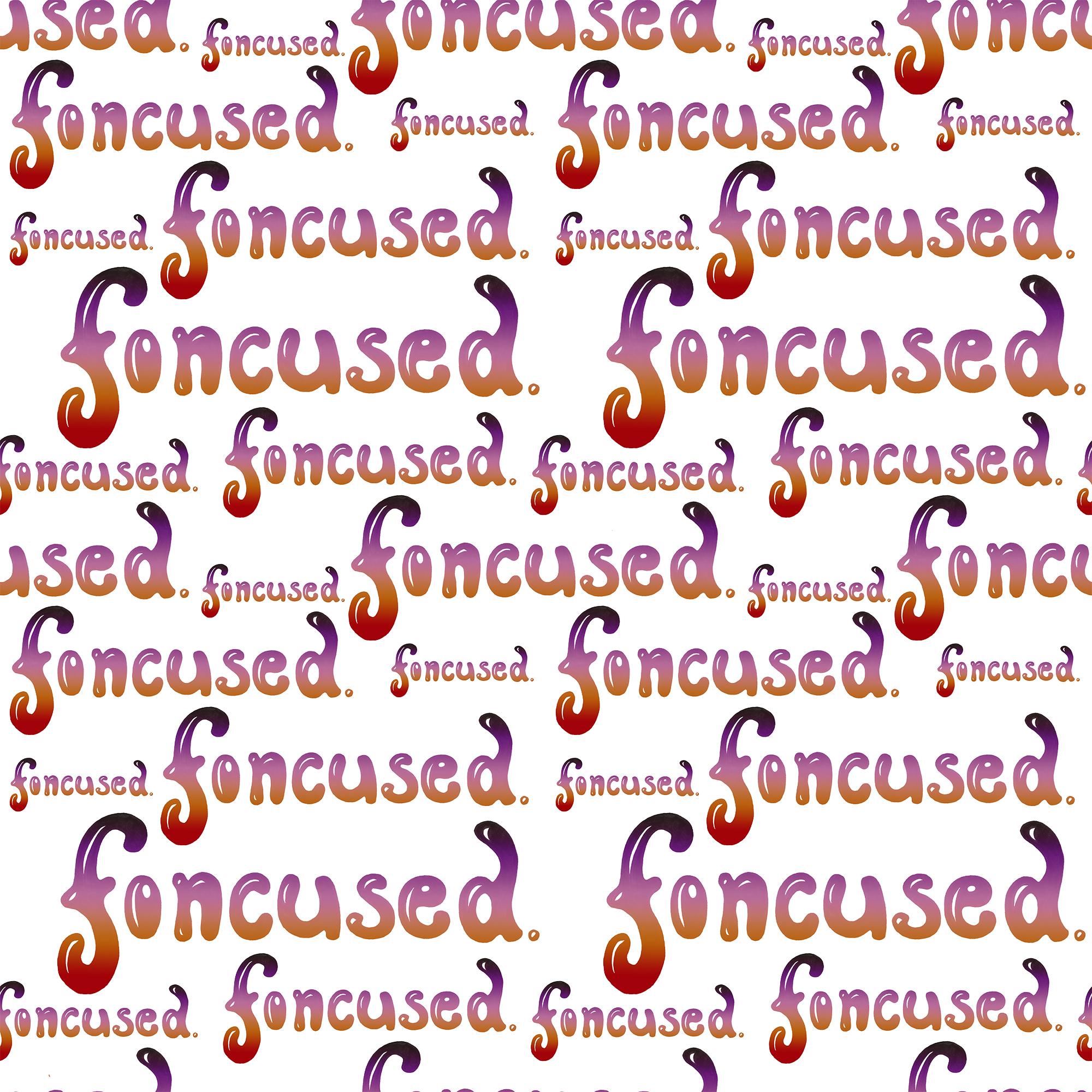 Foncused - repeat pattern