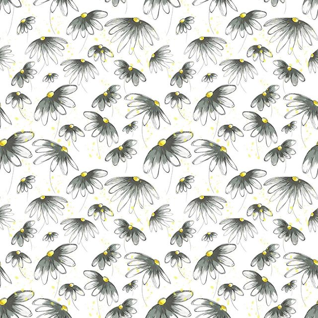 A simple little daisy. Some days you just need something less complicated 🌼 (mocks from Society6 - the best darn store ever!!!) #imagesbycassandra_designs #cassandraoleary #pattern #surfacedesigner #patterndesign #surfacedesign #wallpaper #interiordesign #overallprint #surfacepatterns #fabric #textiledesign #patternlove #repeatpattern #illustrator #illustration #textiledesigner #letsmakeart #textiledesign #surfacepatternprint #surfacepatterndesign #designsforfabric #society6 #spoonflower
