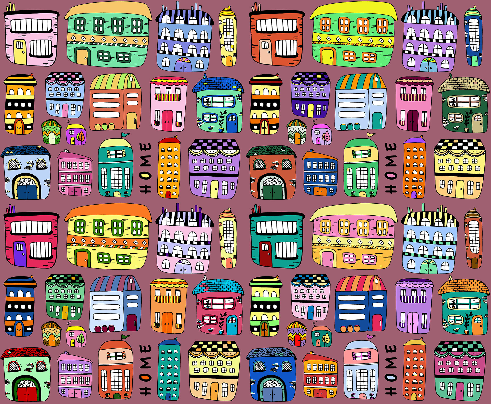 home pattern colourful pink background s.jpg