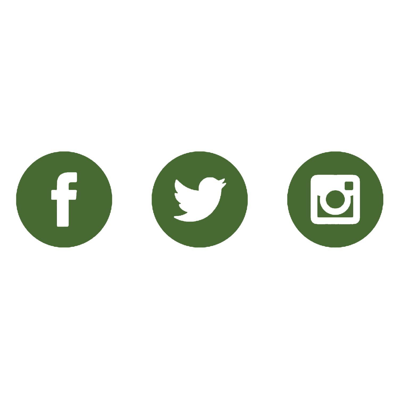Social Media - Facebook | Twitter | Instagram