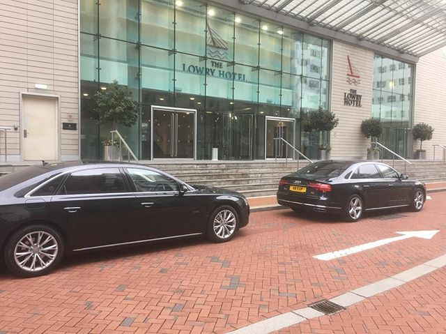 Picking up VIP corporate clients outside @thelowryhotel in Manchester. 🚗🚗🚗 We offer extensive chauffeuring, transport and close protection services to the event industry. Contact us to talk about your next project, joshua@angellhospitality.com