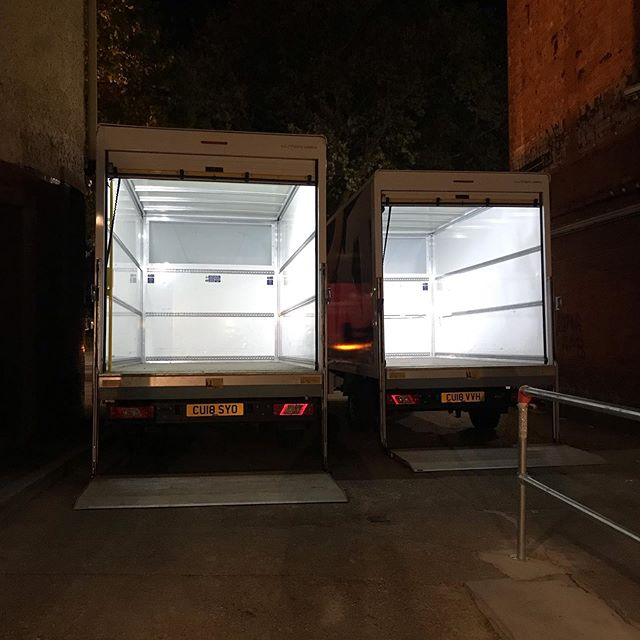 Loading out for @bearsdenmusic when they played a double night show at @o2sbe 🚛 #events #tours #tourlogistics #transport #eventtransport #livemusic #bandsontour #bands #eventprofs