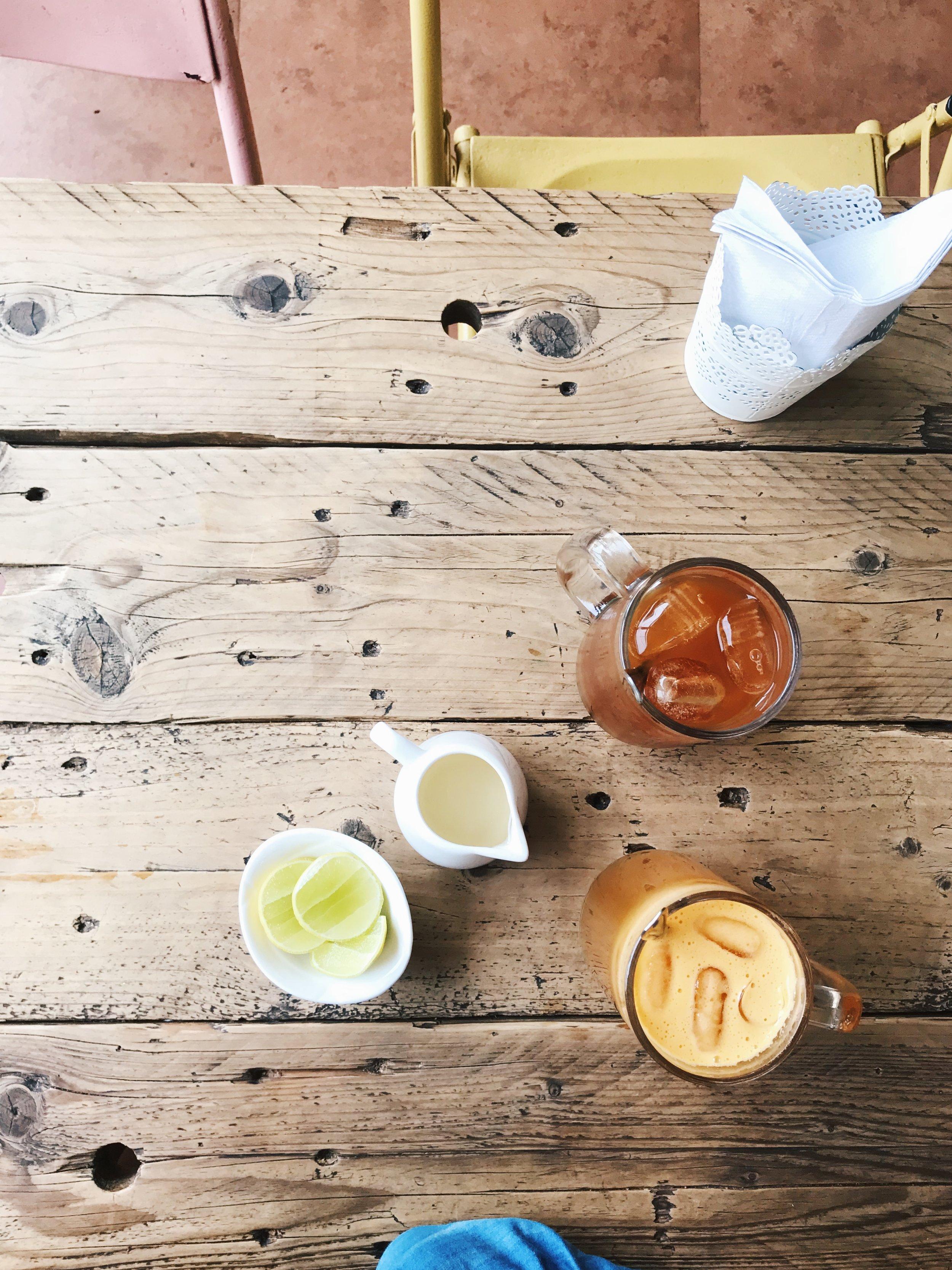Refreshing Drinks at Qissa Cafe - Fort Kochi