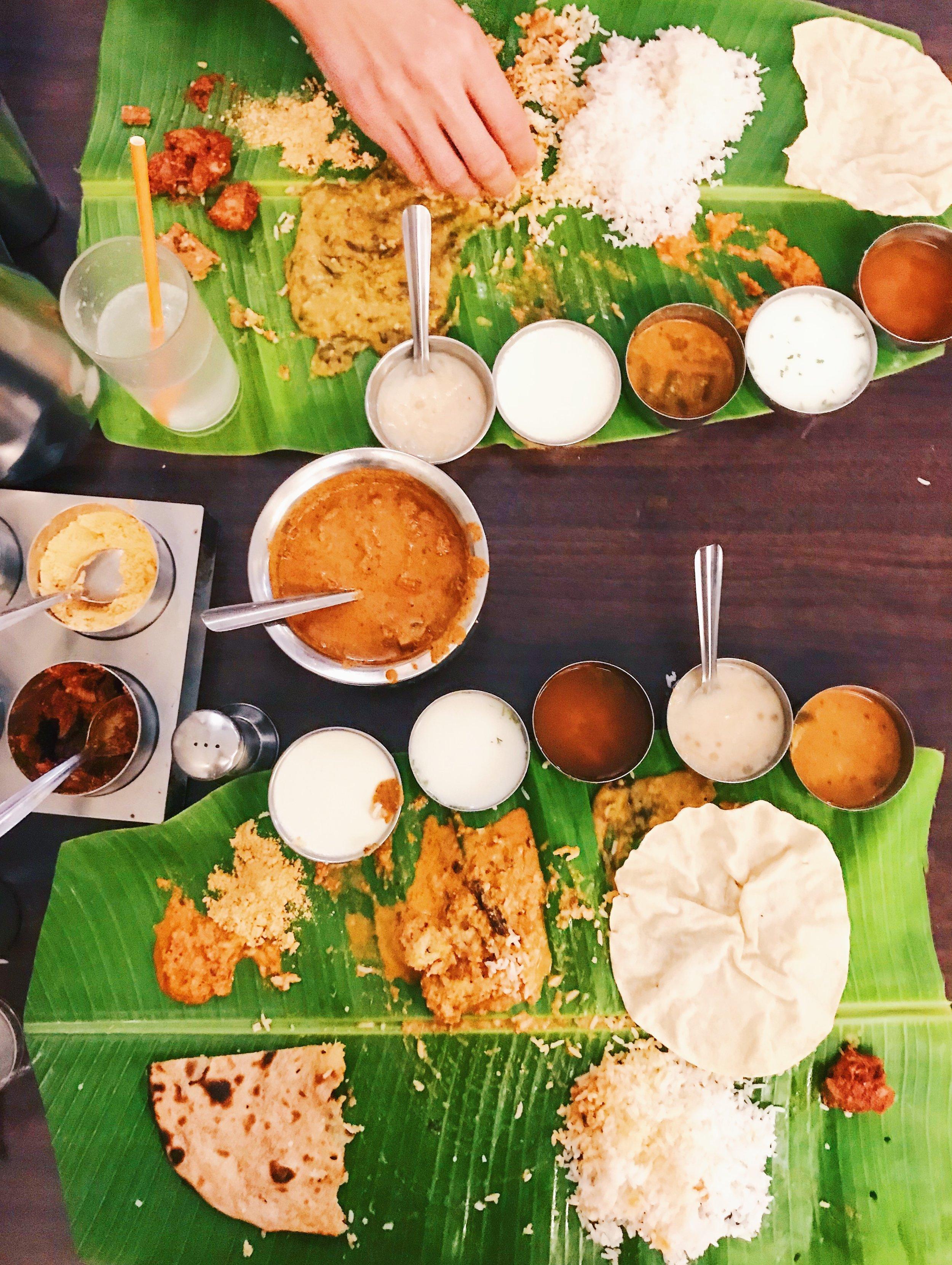 Andhra Thali and Nagarjuna, Bangalore
