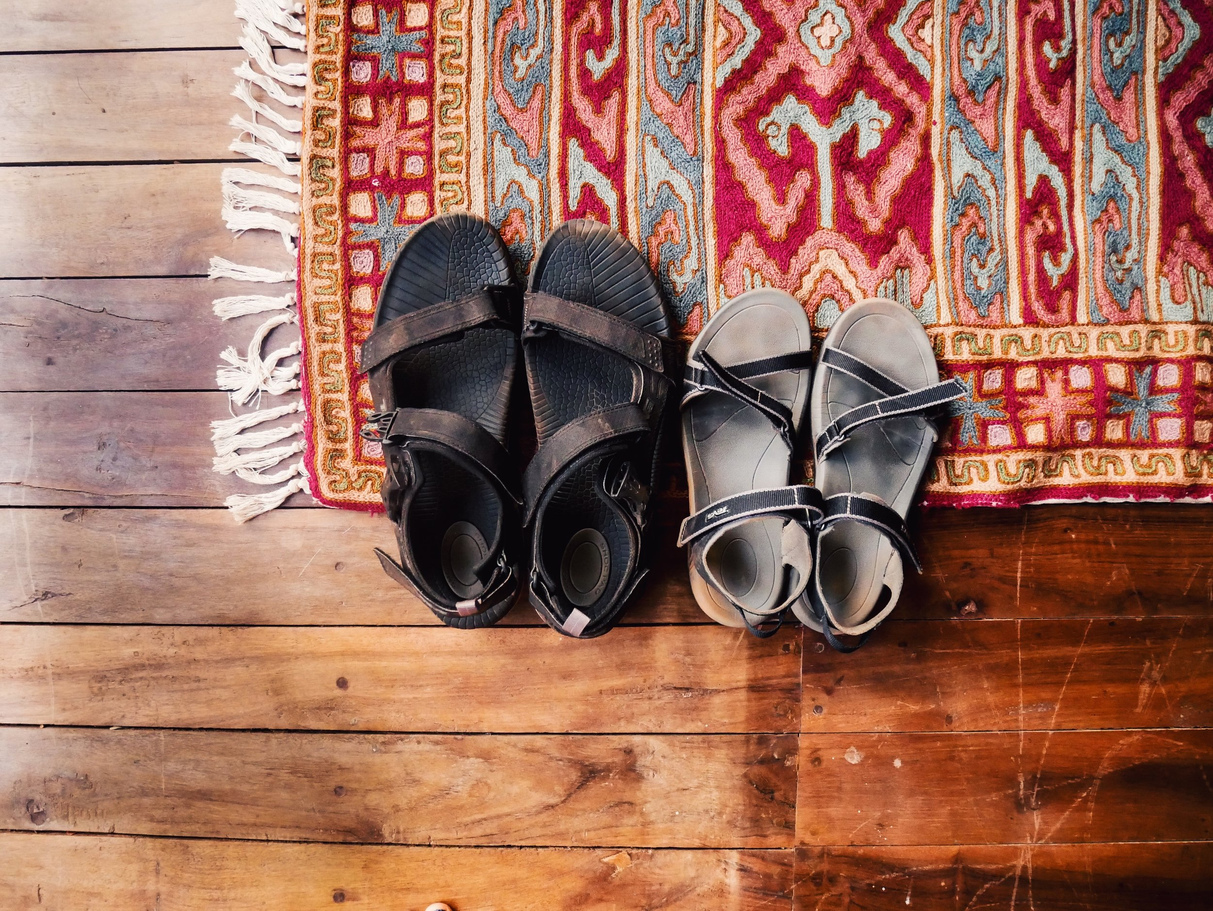1. Sandals - The no. 1, baby!