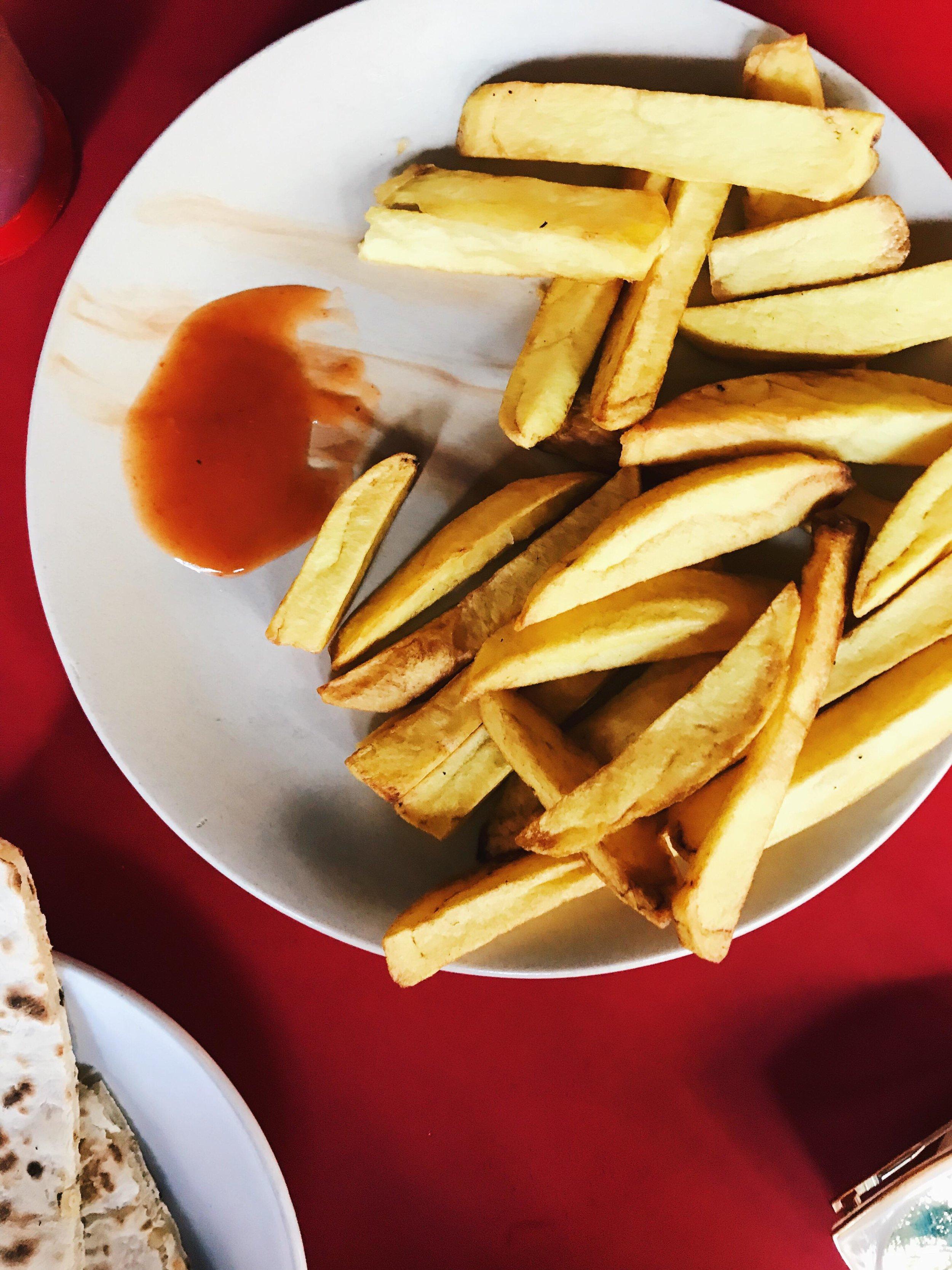 Finger Chips at Shree Ganesh in Palolem
