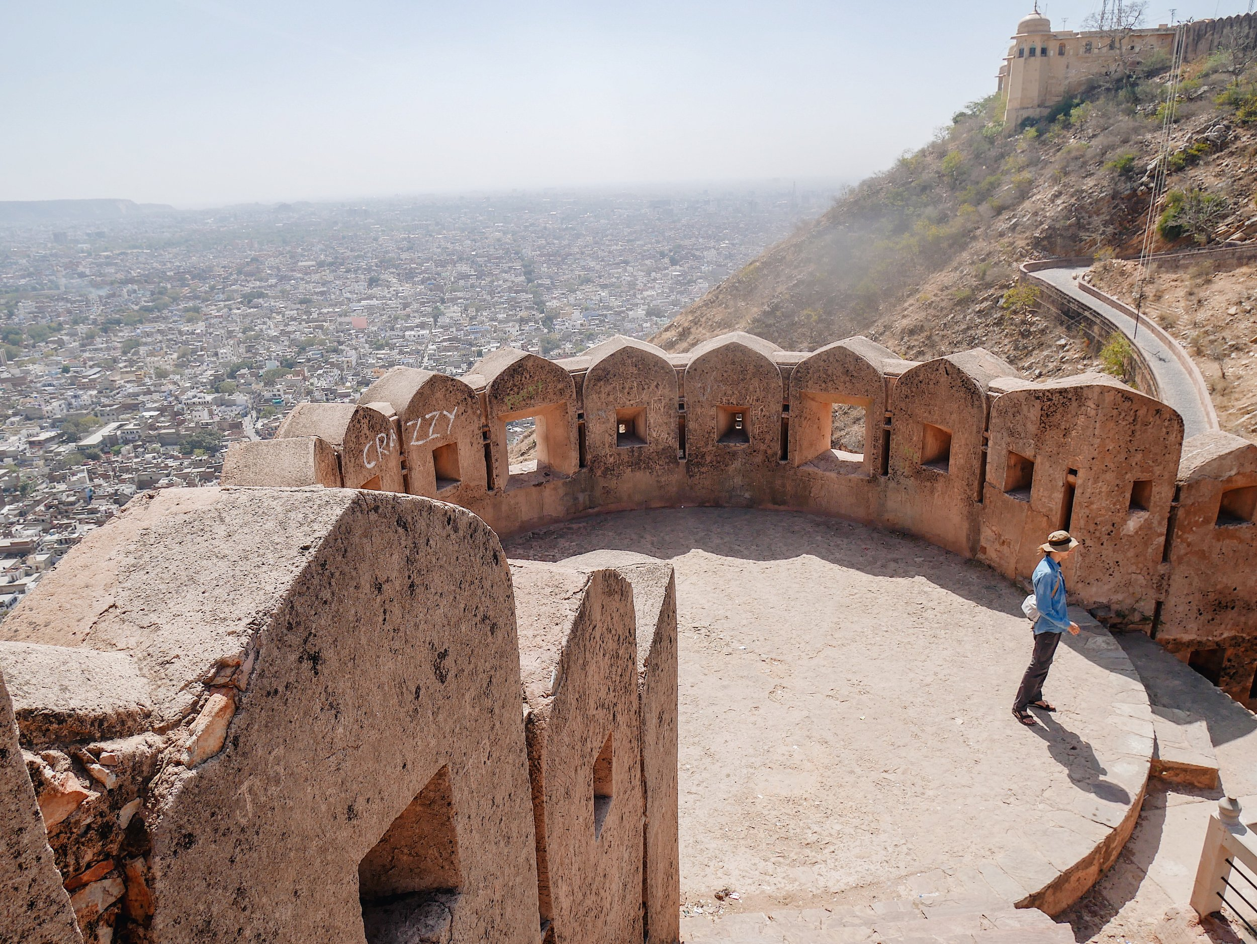 Will at Nahargarh Fort