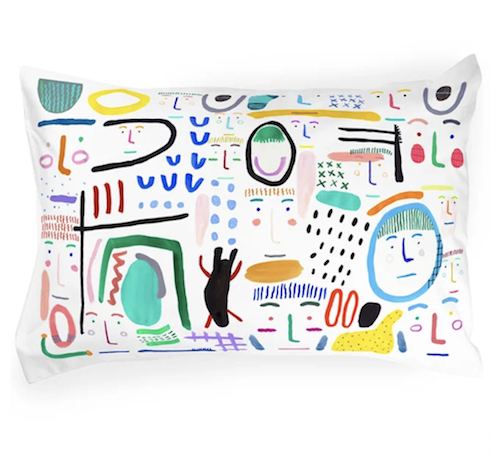 SHUH. pillowcase