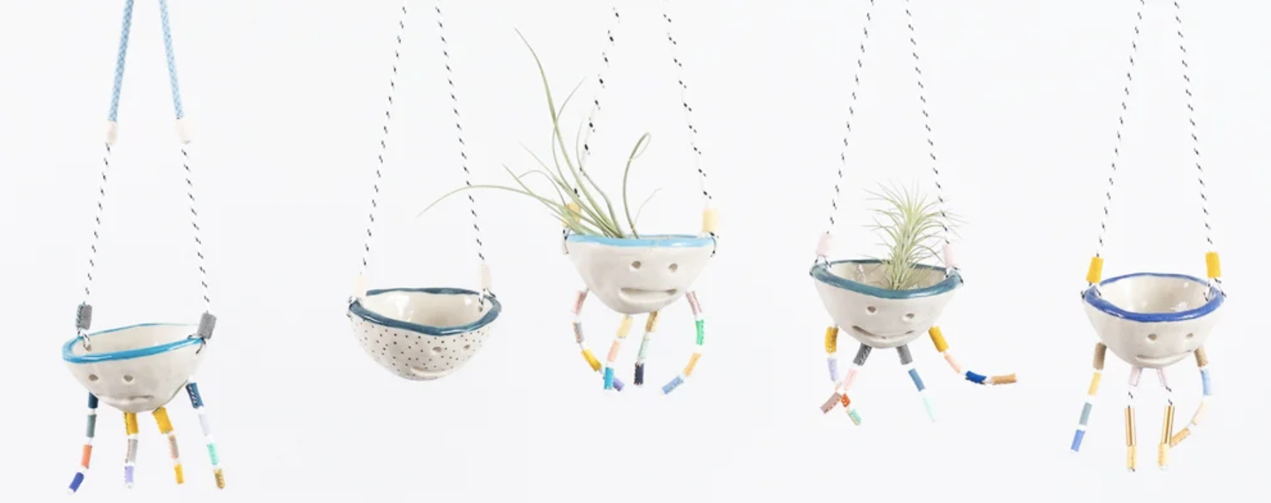 SHUH. cute ceramic air planters