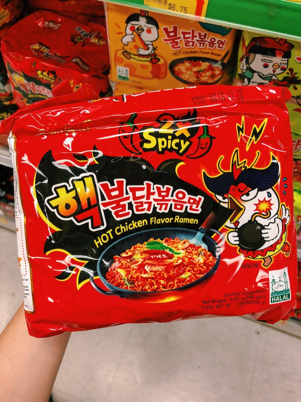 Spicy Ramen Vegan