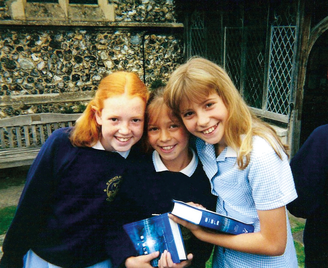 """Pixie Lott - """"I loved my early years at St Nicks with my sister and brother.I'm still friends with people from my year now! Loved our walk to church every Friday morning, playing in the quad and pit, these memories I will treasure forever. I want to support Raise the Roof fundraising campaign for St Nicks to enhance its facilities for future generations."""""""