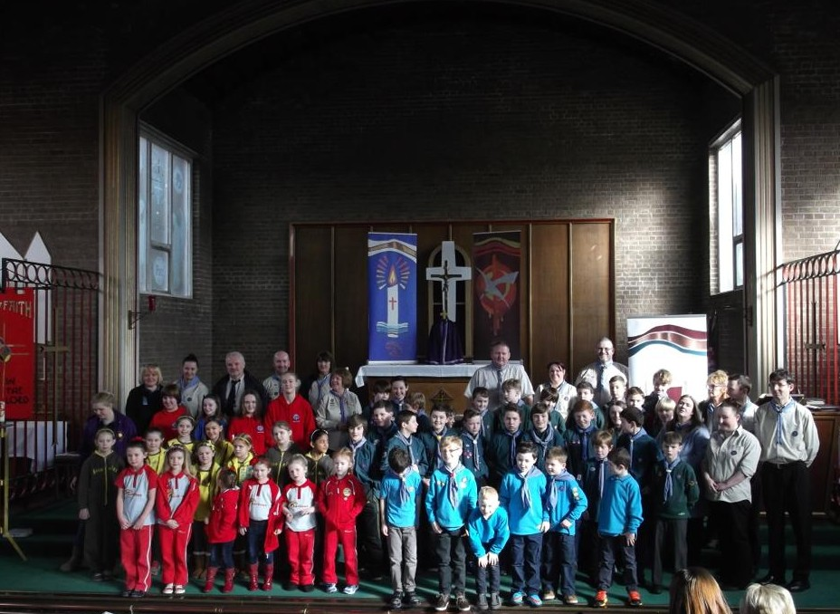 Scout Uniformed Group Mass at St Timothy's