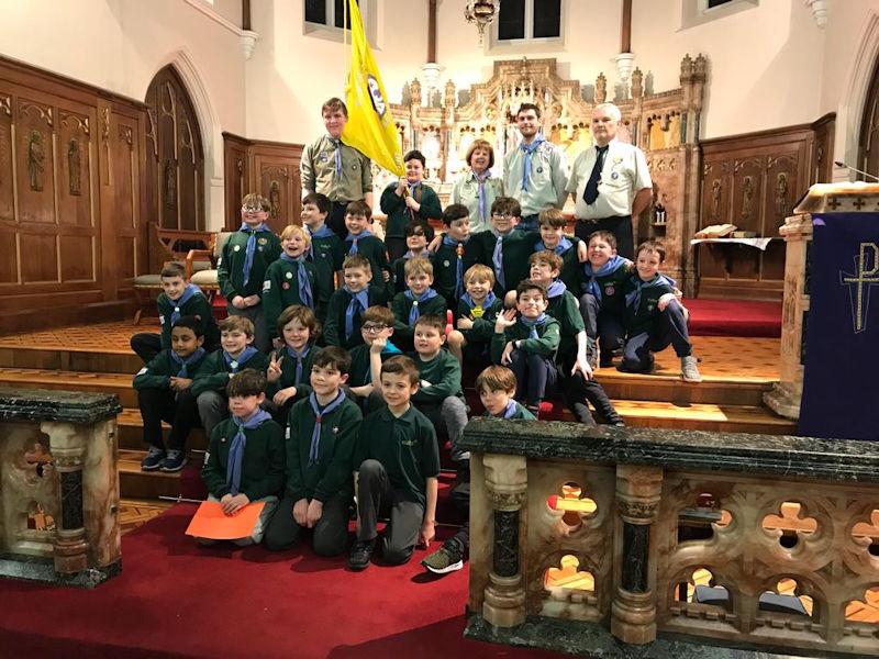 Mass at St Paul's to celebrate long service award