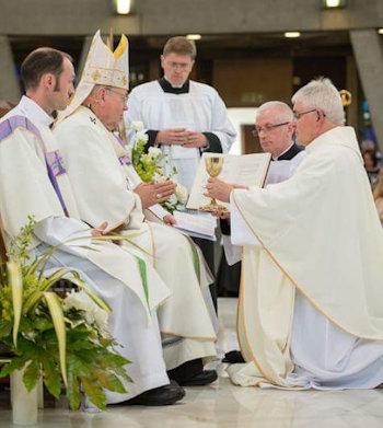 Ordination of Fr Michael Barratt in 2017