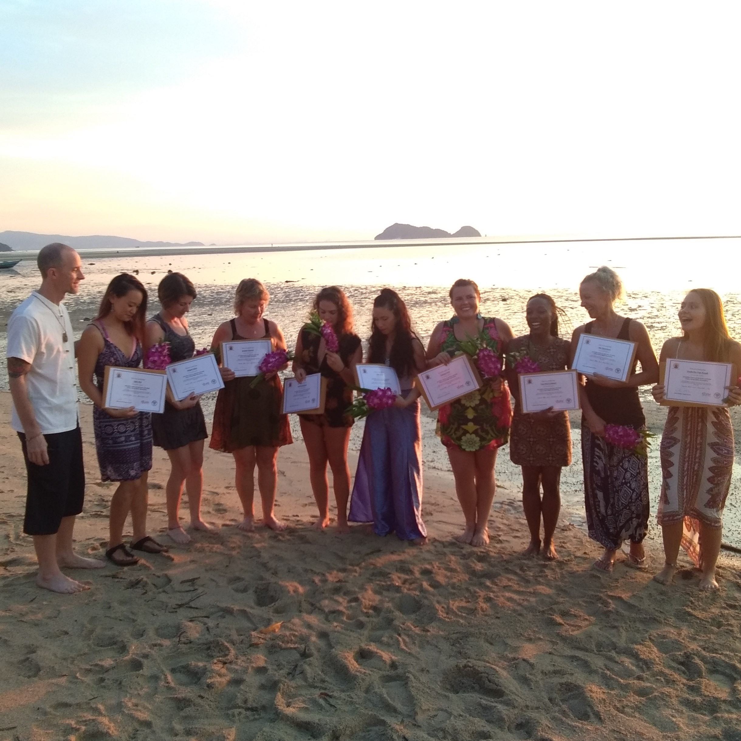 November 2017: Yoga teachers training - So much love and pride for this intense month with these nine freshly graduated Yoga teachers at Johnny Nasello's Yoga Teacher Training Certification program in Ananda Yoga & Detox center in Koh Phangan. lrina is still teaching various workshops like 'Energy healing' and 'Meditation speed-date' for Teacher Trainings and Yoga teacher coaching.'Yoga Teacher Mentorship Program' by Yogirina is coming soon. Look for more info in 'YOGA TEACHERS' section.Ask for more info: irina@irinayogacoach.com