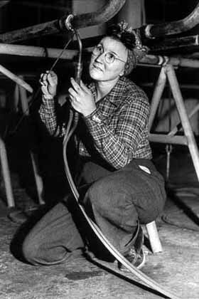 Our story - The Northwest Women's History Project was formed in 1978 to capture the stories of women in Portland, Oregon and Vancouver, Washington who had done 'men's work' in area shipyards during World War II.