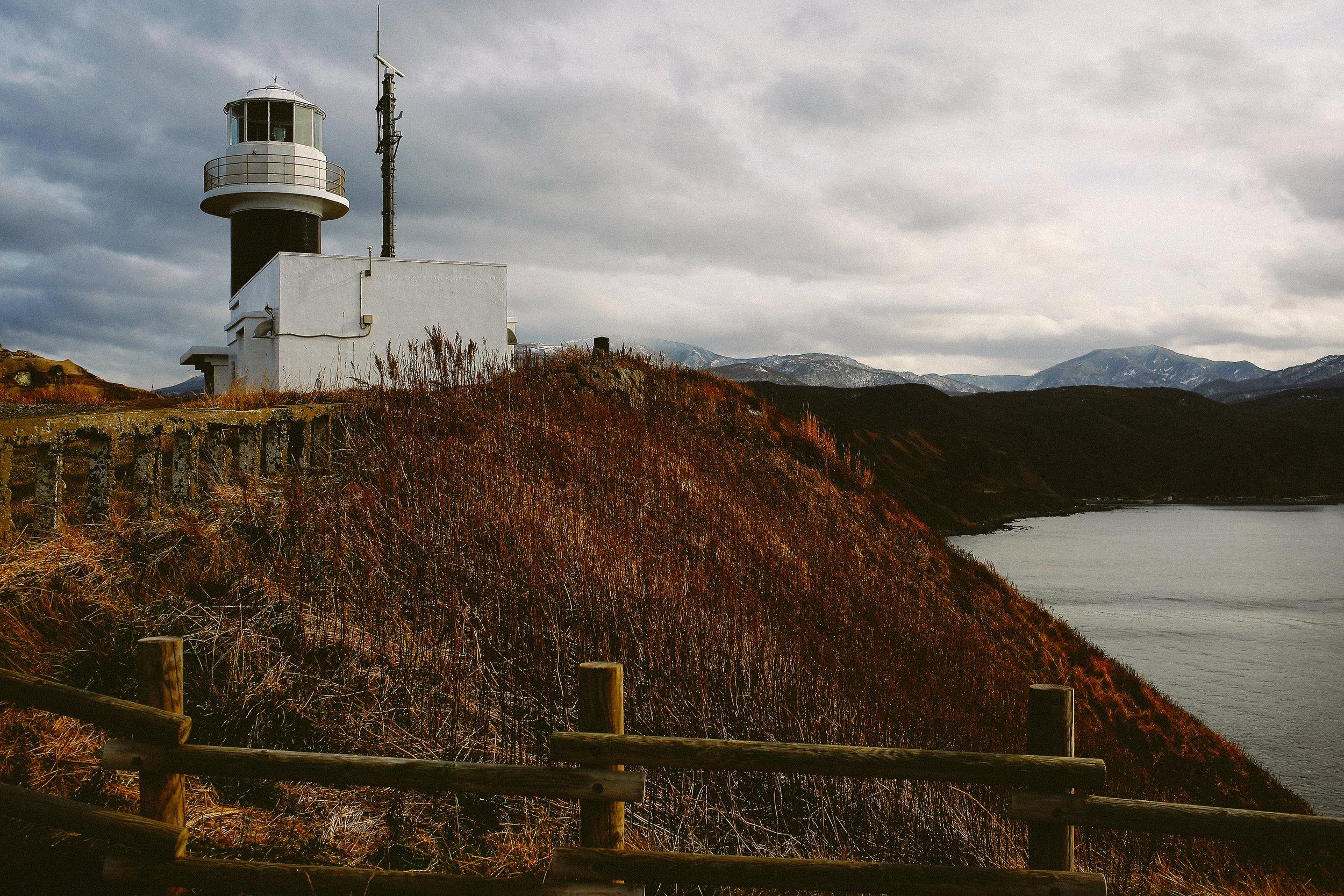 Old lighthouse at Sakotan