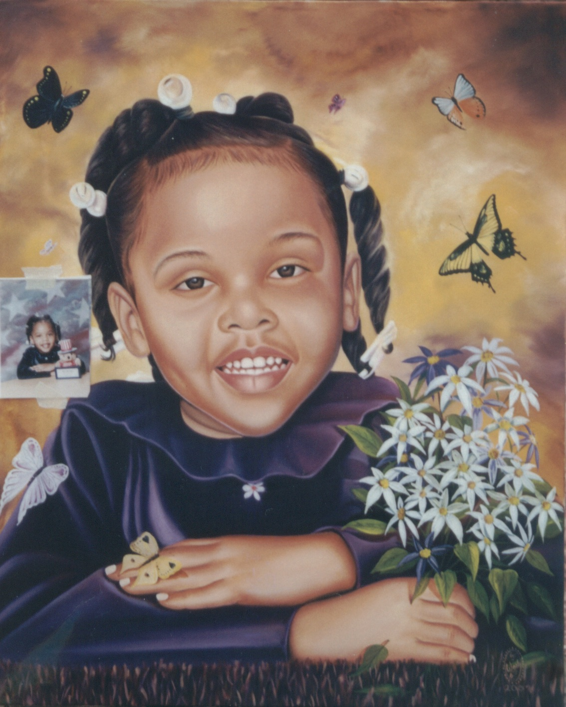 Six Butterflies Child