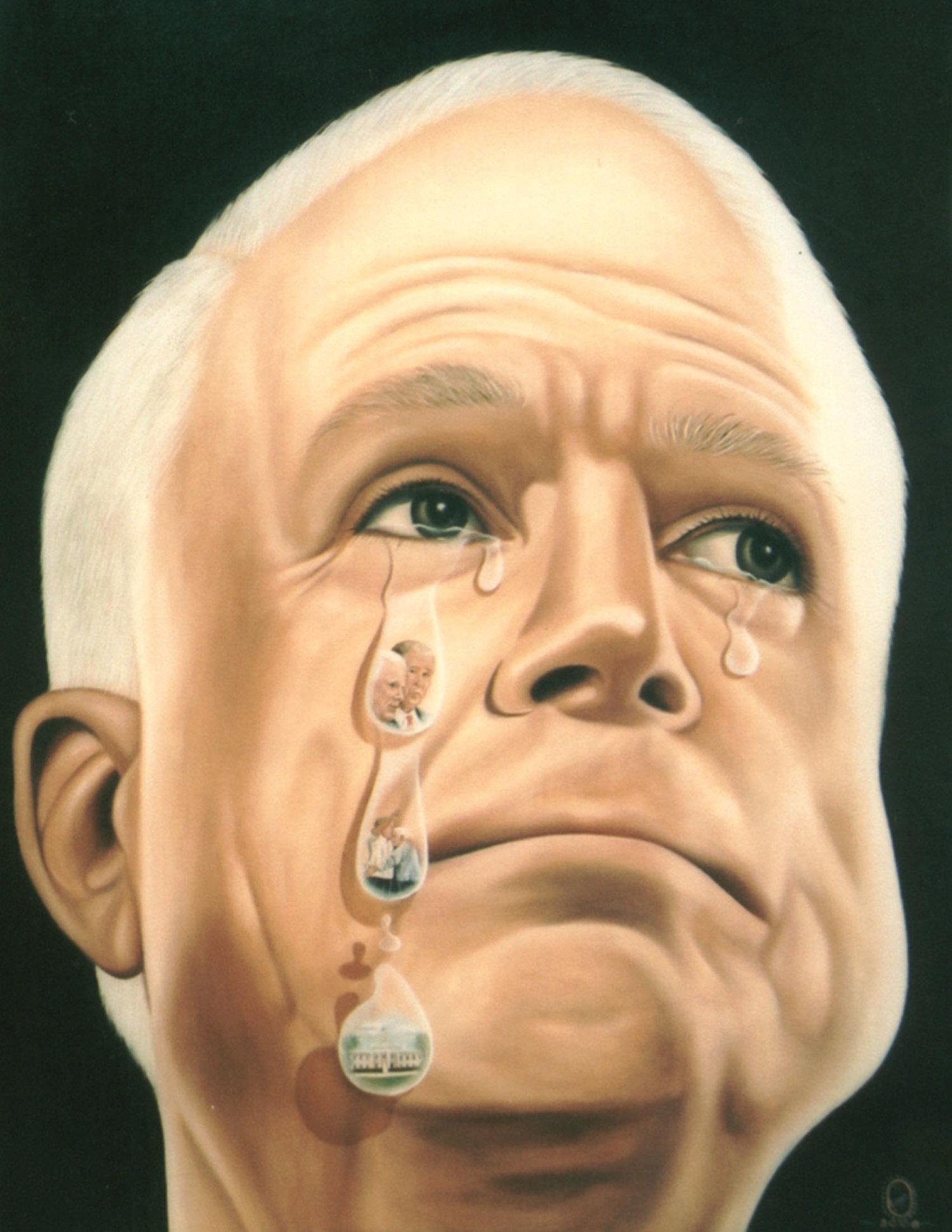 Political Tears McCain