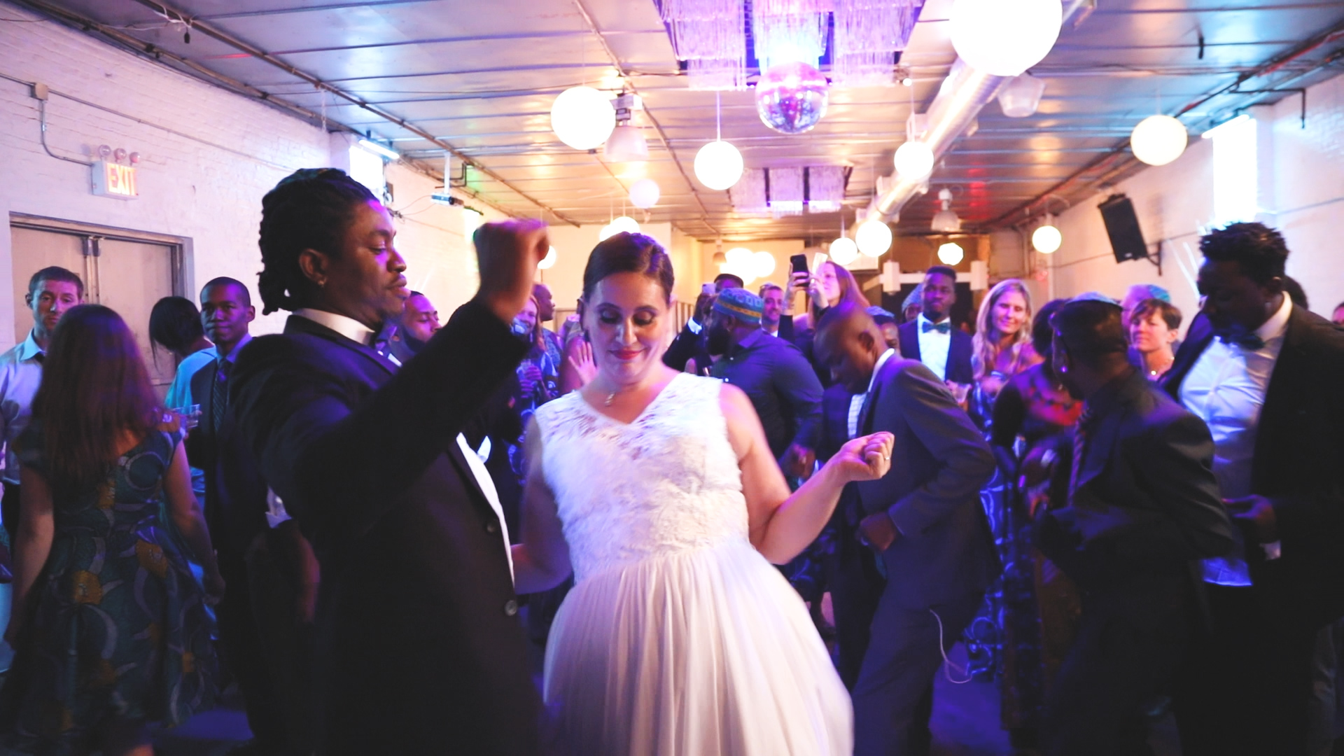 Liz + Ephrem's Afro-Jewish Brooklyn Wedding