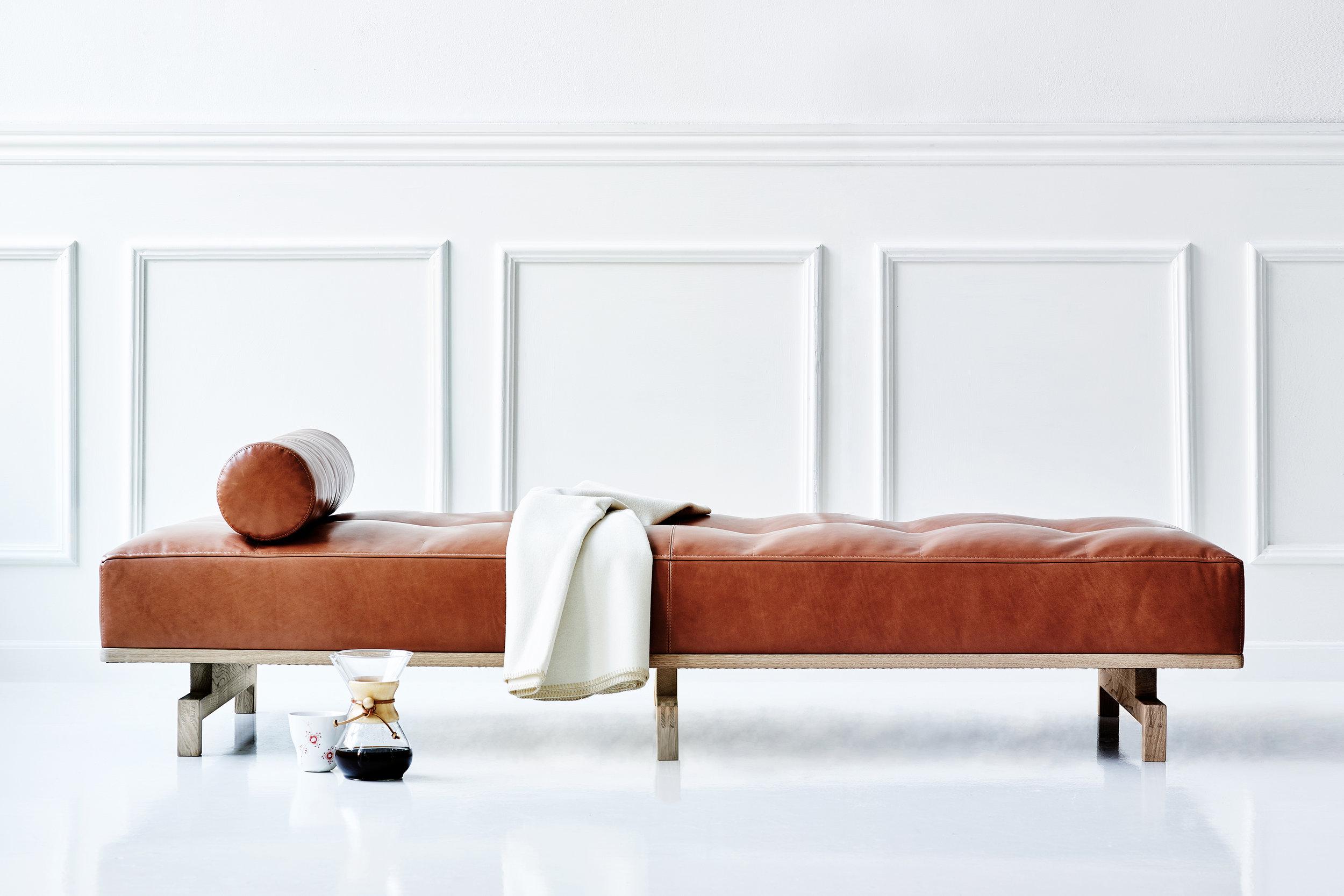 Delphi day bed  designed by Studio Hannes Wettstein